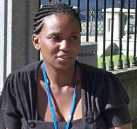 Mutale Kapekele - Programs Officer